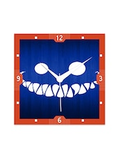 Cheshire Smile Detailed Wall  Clock - By