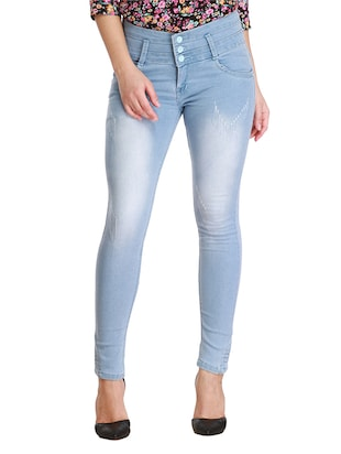 light blue denim jeans -  online shopping for Jeans