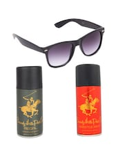Beverly Hills Polo Club Classic Deodorants (Aristocrat, Regal) with Black Wayfarer -  online shopping for Gift Sets