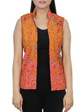orange cotton summer jacket -  online shopping for Summer Jackets