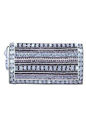 multi cotton embellished clutch -  online shopping for clutches