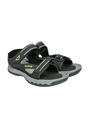 grey synthetic back strap floaters -  online shopping for Floaters