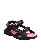 pink synthetic back strap floaters -  online shopping for Floaters