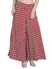 red crepe palazzos -  online shopping for Palazzos