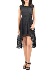 black none assymetric dress -  online shopping for Dresses