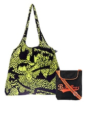 Multicolored Printed Cotton Set Of Bags - By - 1242494