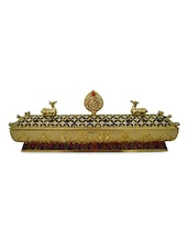 Gold Tibetian Feng Shui Premium Incense Holder - By