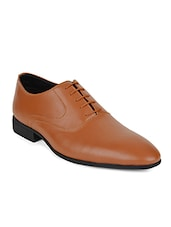 tan leather oxfords -  online shopping for Oxfords