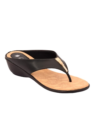 black toe separator sandal -  online shopping for wedges