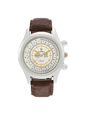 Brown Analog Wrist Watch For Men -  online shopping for Analog Watches