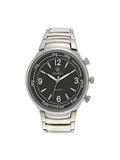 Silver Analog Wrist Watch For Men -  online shopping for Analog Watches