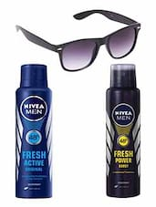 Nivea Deodorant Combo with wayfarer -  online shopping for Men Gift Sets