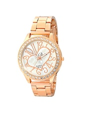 Botti Rose Gold Dial Analog Watch for Women -BOT-0024 -  online shopping for Wrist watches
