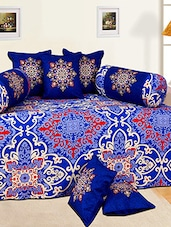 Salona Bichona 100% Cotton Diwan Set of 8 -  online shopping for diwan sets