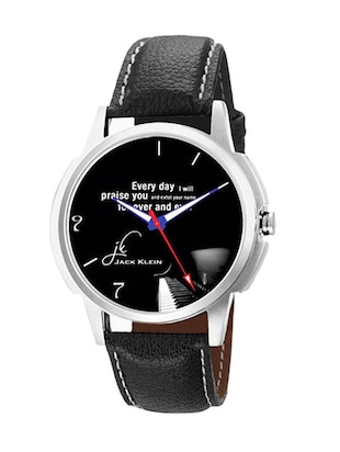 Jack klein GRP-1212 Synthetic Leather Analog Wrist Watch -  online shopping for Analog Watches