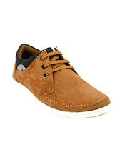 tan leather lace up shoes -  online shopping for Shoes