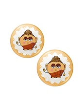 Set Of 2 Lord Buddha Fridge Toy Magnets Combo Gift 427 - By