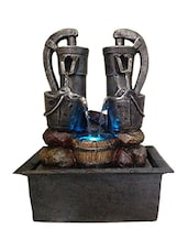 Home D  Multi Colour Stoneware Water Fountain -  online shopping for Fountains