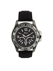 Caio Black Round Analog Men's Watch -  online shopping for Chronograph Watches