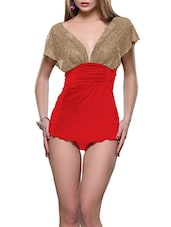 red satin babydoll -  online shopping for Babydolls