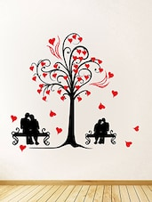 Red Tree - Vinyl Wall Sticker - AA1034_M -  online shopping for Wall Decals & Stickers