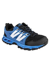 Blue, black lace up sport shoe -  online shopping for Sport Shoes