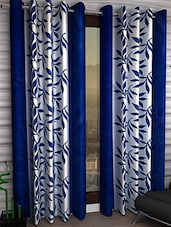 MN Decor Beautifull set of 2 polyester window curtain -  online shopping for Curtains