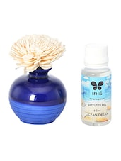 Multi Colored Ceramic Ocean Dream Reed Diffuser -  online shopping for Reed diffusers