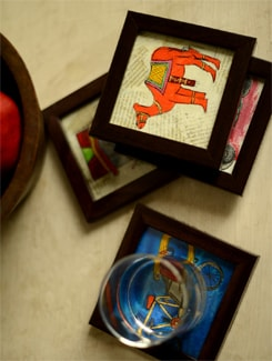 Set Of 4 Coasters - ExclusiveLane