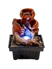 Flowing water in Pots Led Water Fountain -  online shopping for Fountains