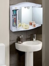 White Bathroom Cabinet - By