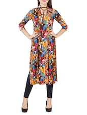 multi rayon straight kurti -  online shopping for kurtis