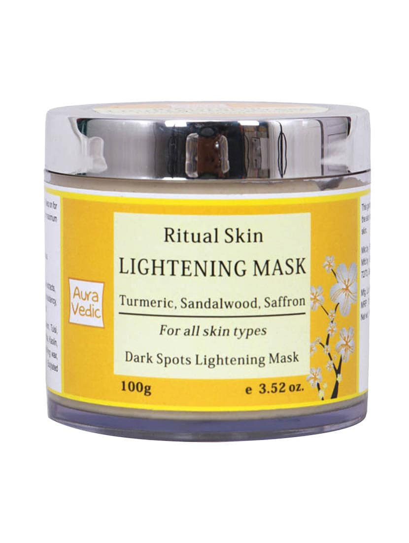 Auravedic Ritual Skin Lightening Mask With Sandal - By
