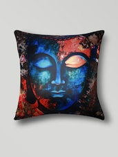 Multicolored Polyester Digital Printed Cushion Cover - By - 1276814