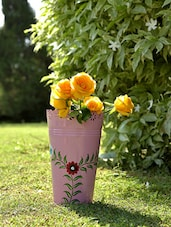 Pink Planters (Set Of 3) - By