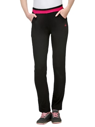 black cotton track pants -  online shopping for Track pants