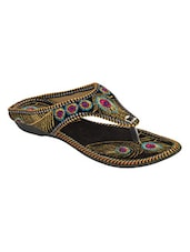 multi colored ethnic sandals -  online shopping for sandals