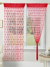 RED HEART CURTAIN -  online shopping for Curtains