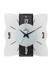 White Wooden  Wall Clock - By