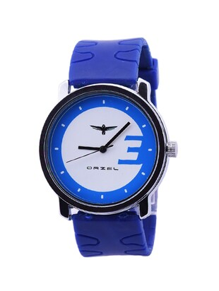 Blue Leather Strap Mens Watch -  online shopping for Analog Watches