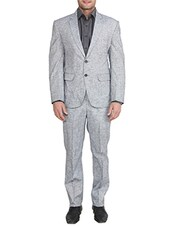grey linen suits (business and party) -  online shopping for Suits (Business and Party)