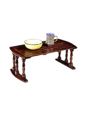 Angel's Sheesham wood breakfast and laptop table -  online shopping for wooden furniture