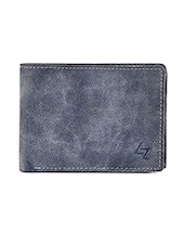 blue leatherette wallet -  online shopping for Wallets