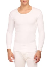 white cotton thermal top -  online shopping for Thermal Tops