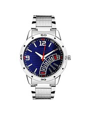round dail Stainless Steel analog watch -  online shopping for Analog Watches