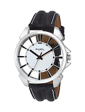 Fuel Spectre White Dial Men's Watch- FM-SPC-010207 -  online shopping for Analog Watches