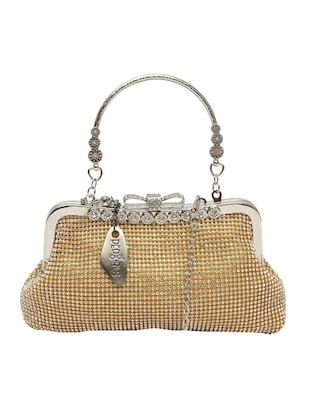 gold leatherette purse -  online shopping for Purses