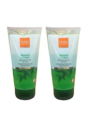 VLCC Neem With Chamomile & Tea Tree (Pack Of 2) Face Wash (300 Ml) - By