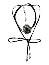 black zinc choker necklace -  online shopping for Necklaces