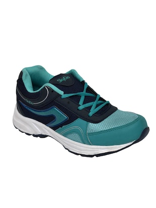 blue mesh lace up sport shoes -  online shopping for Sport Shoes